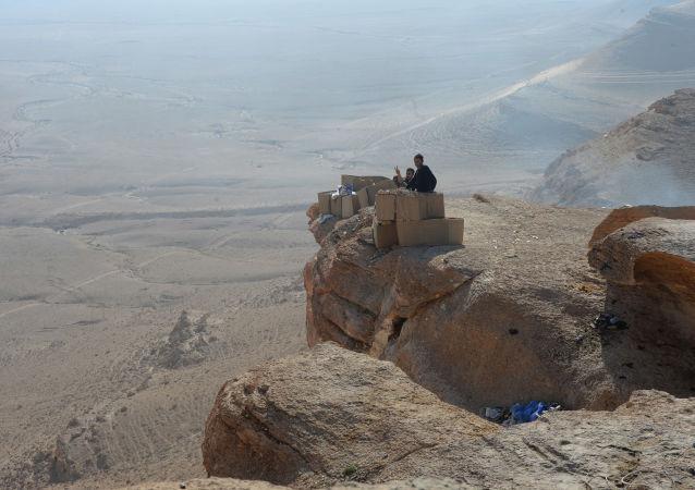 Palmira yakınlarındaki gözlem merkezi.