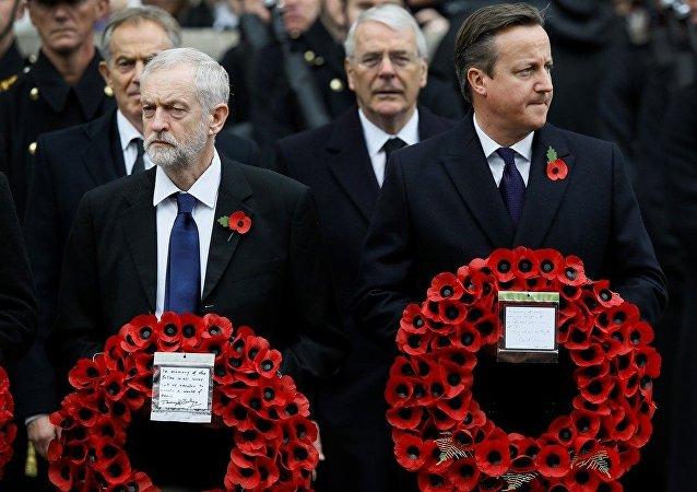 İşçi Partisi lideri Jeremy Corbyn- İngiltere Başbakanı David Cameron