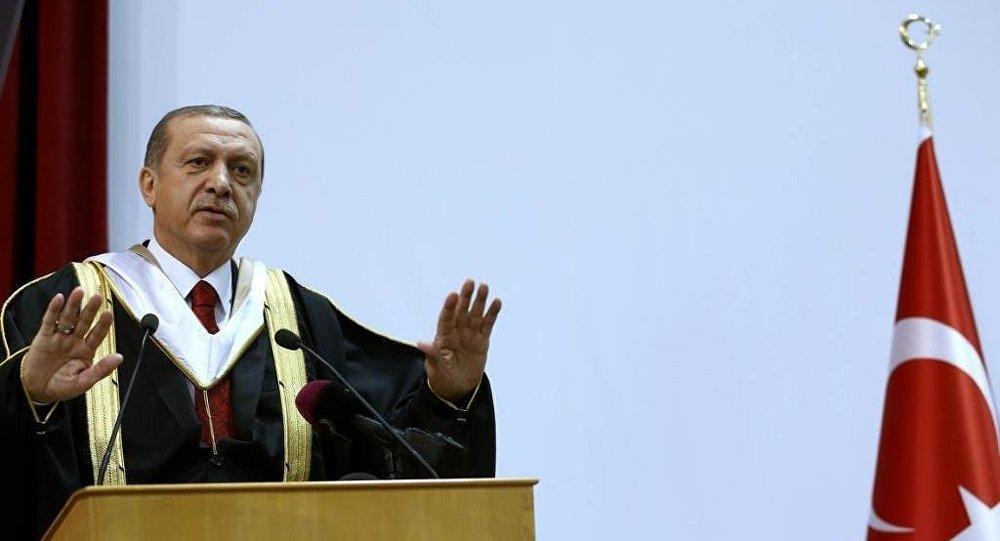 Cumhurbaşkanı Recep Tayyip Erdoğan, Katar'da