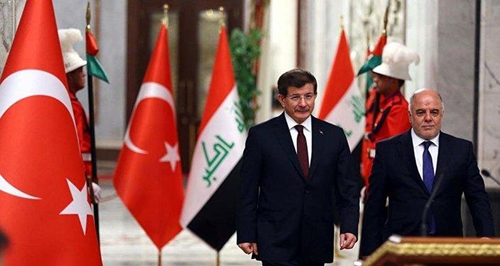 Ahmet Davutoğlu - Haydar El İbadi