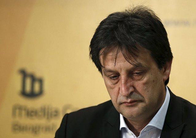 Sırbistan eski Savunma Bakanı Bratislav Gaşiç
