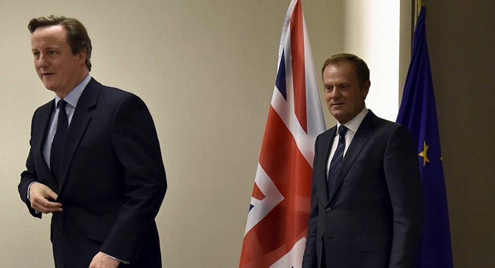 Donald Tusk - David Cameron