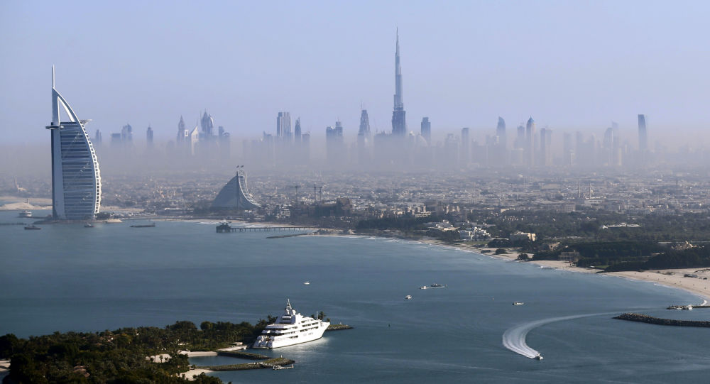 Dubai'de yer alan dünyanın en yüksek gökdeleni Burç Halife.