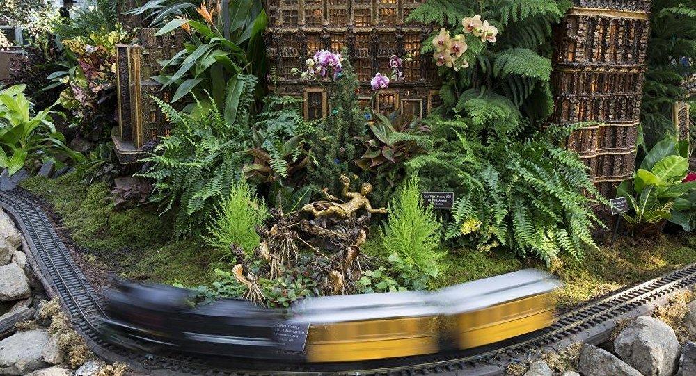 New York'ta 'Tatil Treni' sergisine yoğun ilgi