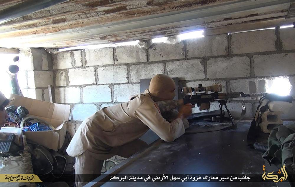 IŞİD militanlarının silahları