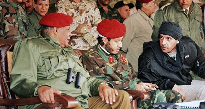 Kaddafi'nin oğlu
