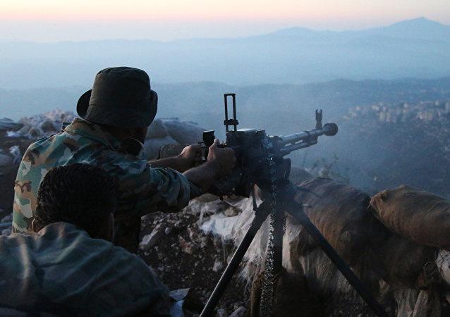 Suriye askeri - Lazkiye