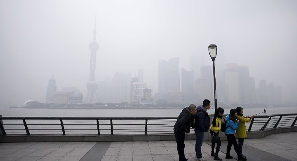 Çin- hava kirliliği