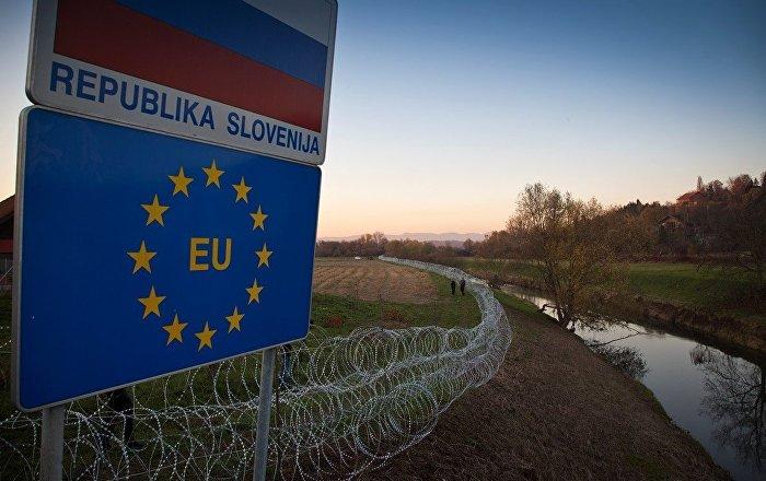 Slovenya'dan yasa dışı göçle mücadele kapsamında İtalya sınırına asker desteği