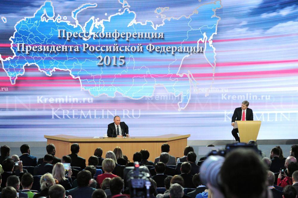 Putin'in yılsonu basın toplantısı