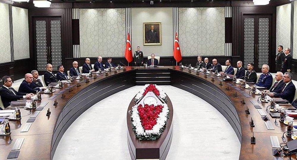 Milli Güvenlik Kurulu'nun (MGK) aralık ayı olağan toplantısı sona erdi.