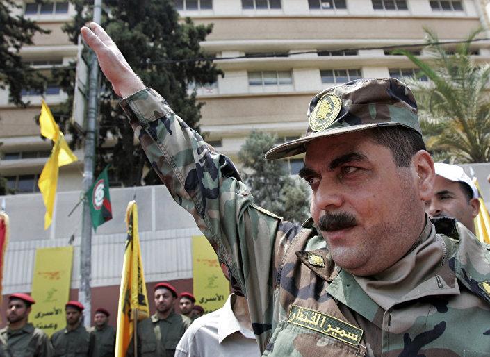 Hizbullah komutanlarından Samir Kantar