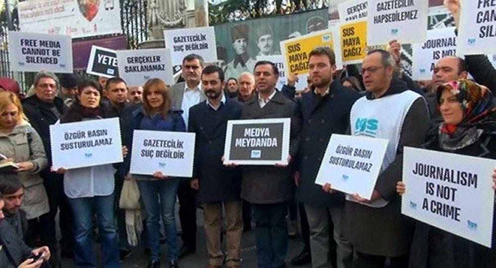 Türkiye Gazeteciler Sendikası eylem