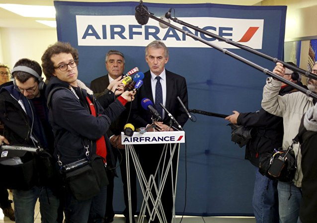 Air France CEO'su Frederic Gagey