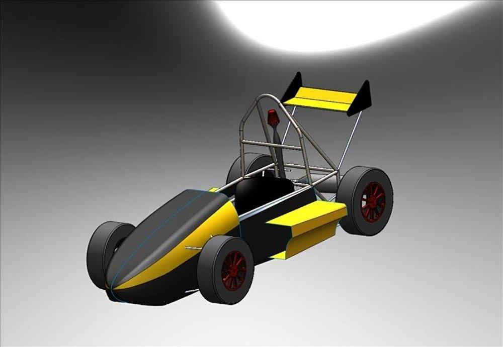 Üniversitelilerin Formula aracı İngiltere'de boy gösterecek