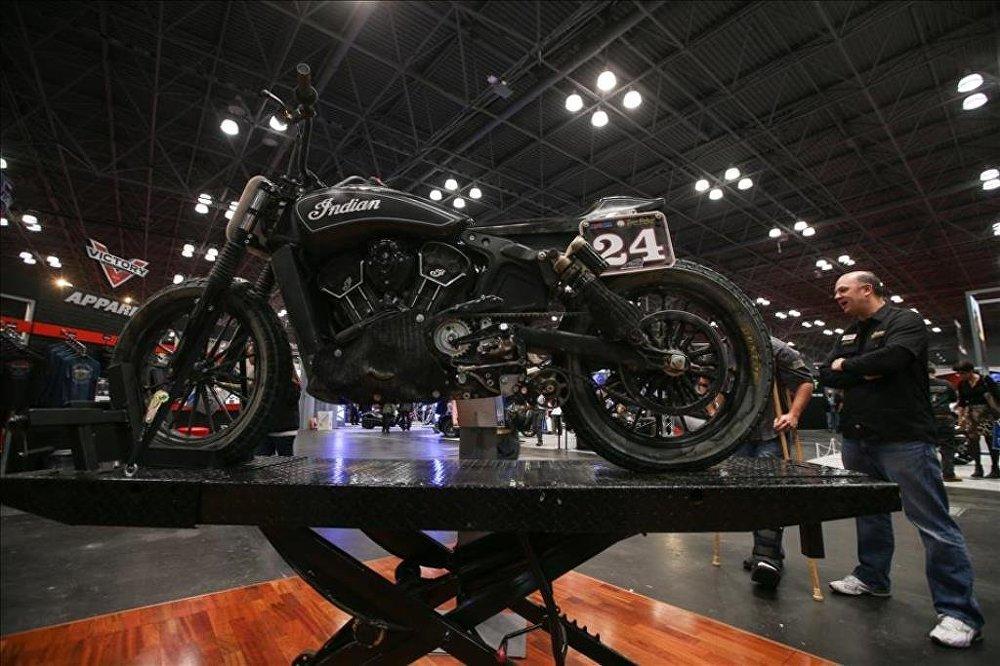 Motosiklet tutkunları New York'ta buluştu