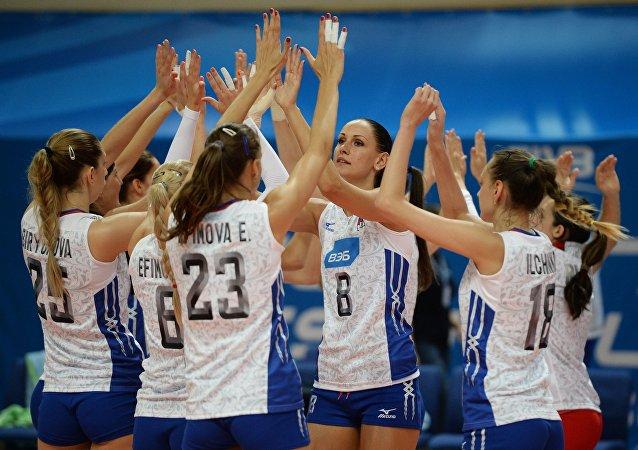 Rusya Kadın Milli Voleybol Takımı