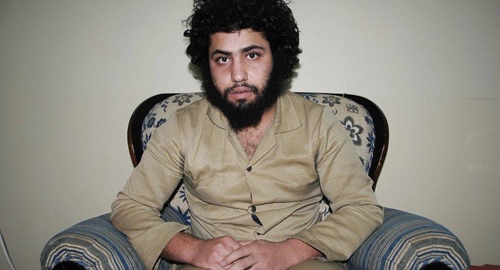 Suriye'de YPG'nin elinde esir olarak bulunan IŞİD üyesi Abdurrahman Abdulhadi