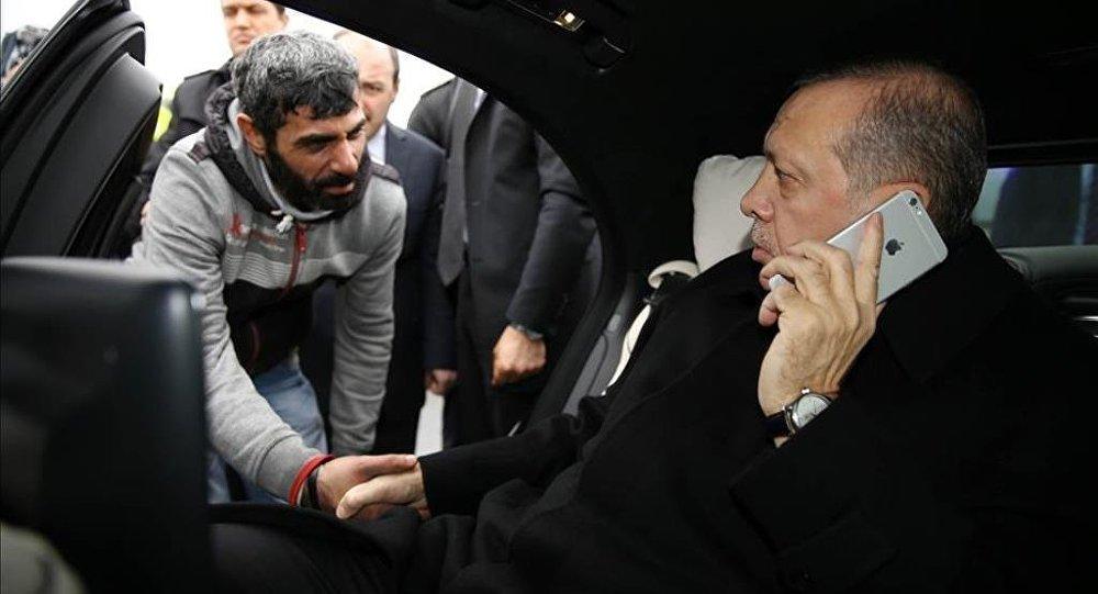Erdoğan'ı görünce intihardan vazgeçti