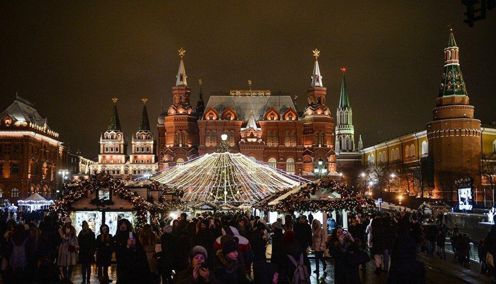 Moskova'da Noel