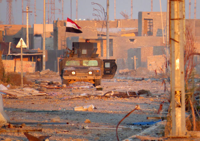 IŞİD'den kurtarılan Ramadi
