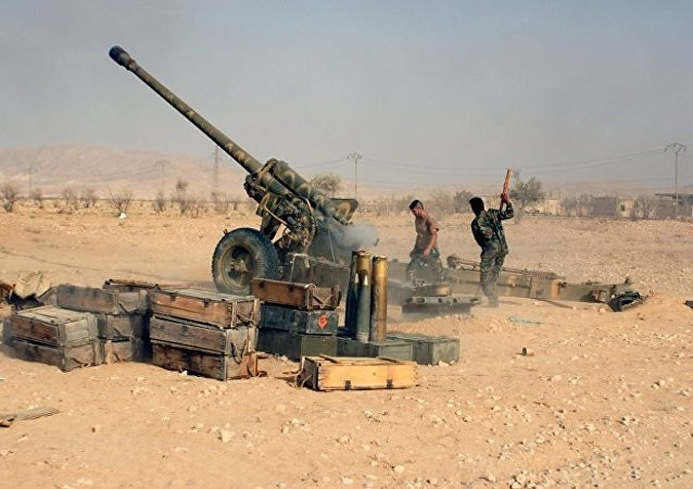 Suriye ordusu Palmira yakınlarında
