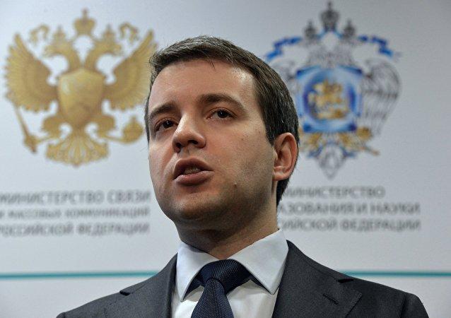 Rusya İletişim Bakanı Nikolay Nikiforov