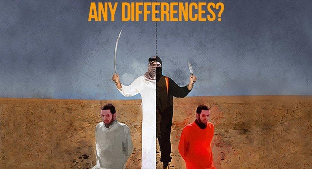 Hamaney'den IŞİD - Suudi Arabistan karikatürü