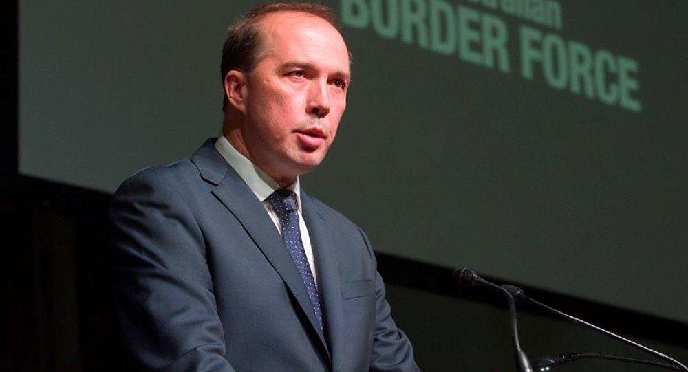 Avustralya Göçmen Bakanı Peter Dutton