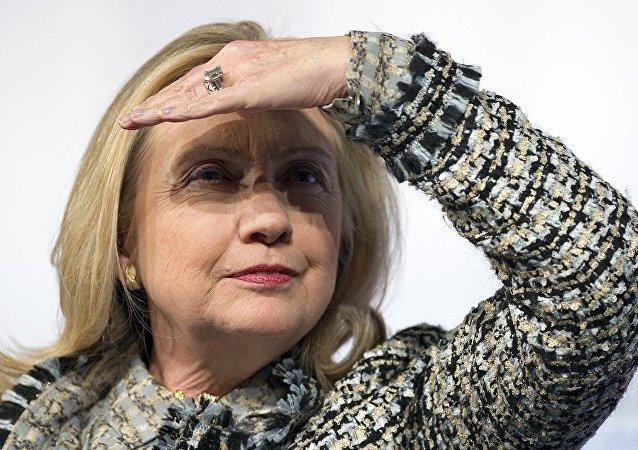 ABD başkan aday adayı Hillary Clinton