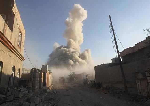 IŞİD, Ramadi Devlet Hastanesi'ni havaya uçurdu