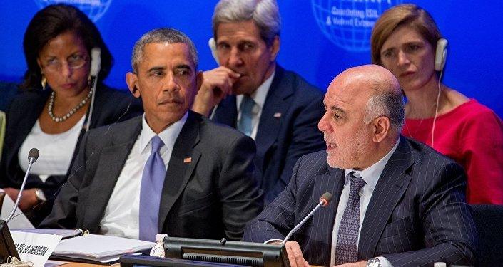 ABD Başkanı Barack Obama- Irak Başbakanı Haydar el İbadi