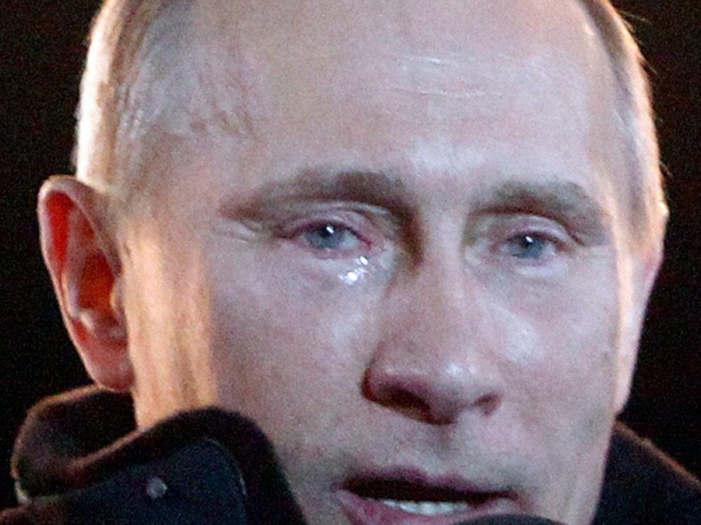 Vladimir Putin ağladı.