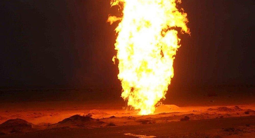 Mısır'da doğalgaz boru hattına sabotaj