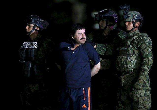 'El Chapo' lakaplı uyuşturucu baronu Joaquin Guzman