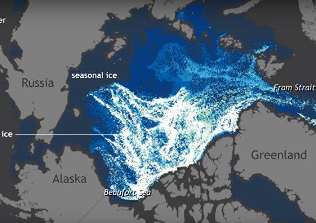 Kuzey Kutbu, bir dakikada eridi