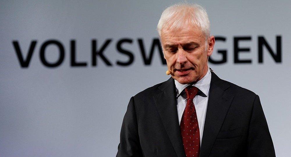 Volkswagen Yönetim Kurulu Başkanı Matthias Müller