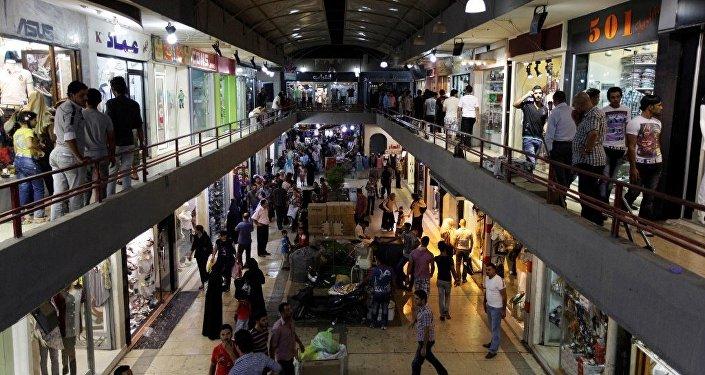 Bağdat'ta alışveriş merkezine saldırı.