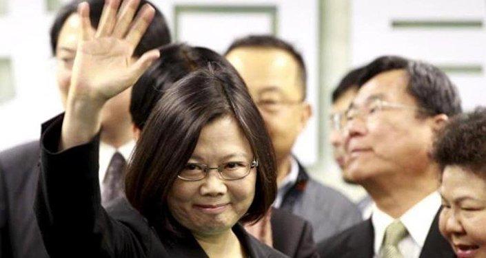 Demokratik İlerleyiş Partisi (DPP) lideri Tsai Ing-wen