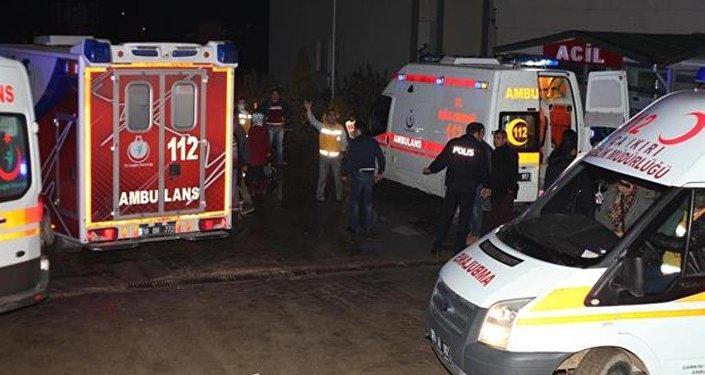 Çankırı'da fabrikada sızan kimyasal maddeden etkilenen 100 işçi hastaneye kaldırıldı.