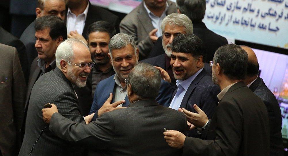İran parlamentosu / İran'a uygulanan yaptırımlar kaldırıldı