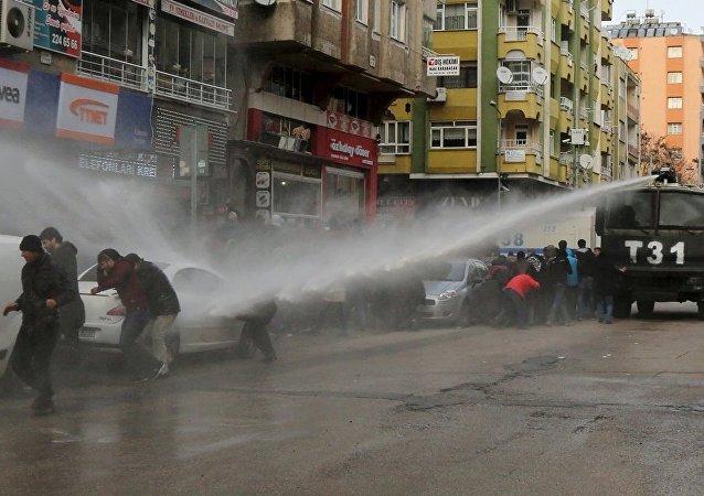 Diyarbakır, yürüyüş, müdahale, protesto