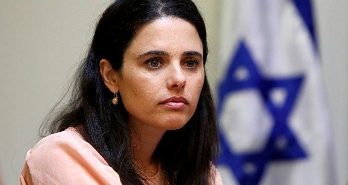 İsrail Adalet Bakanı Ayelet Şaked