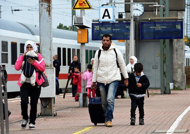 Almanya'daki sığınmacılar