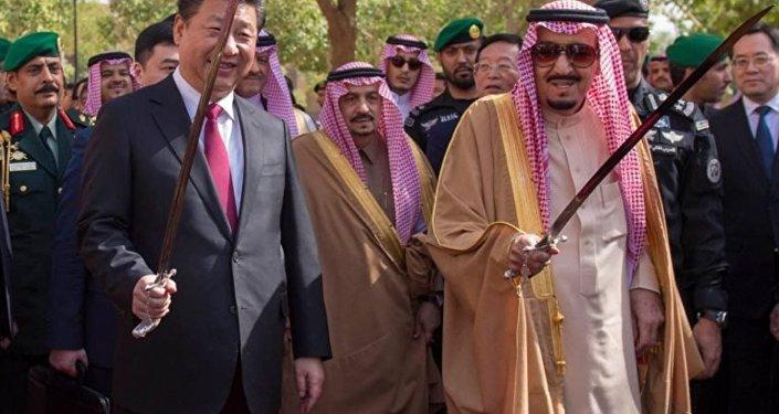 Çin lideri Şi Cinping- Suudi Arabistan Kralı Selman bin Abdülaziz