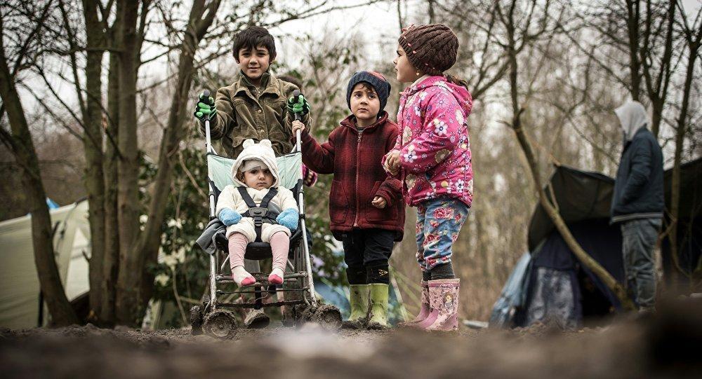 Avrupa'daki sığınmacı çocuklar