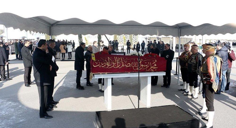 Mustafa Koç cenaze