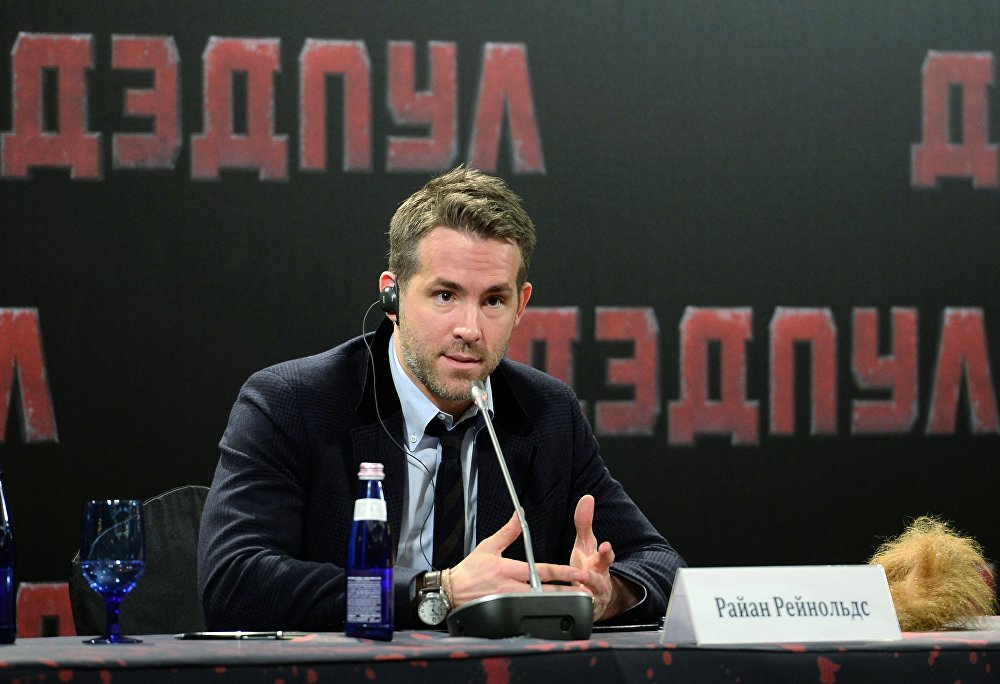 Ryan Reynolds Moskova'da