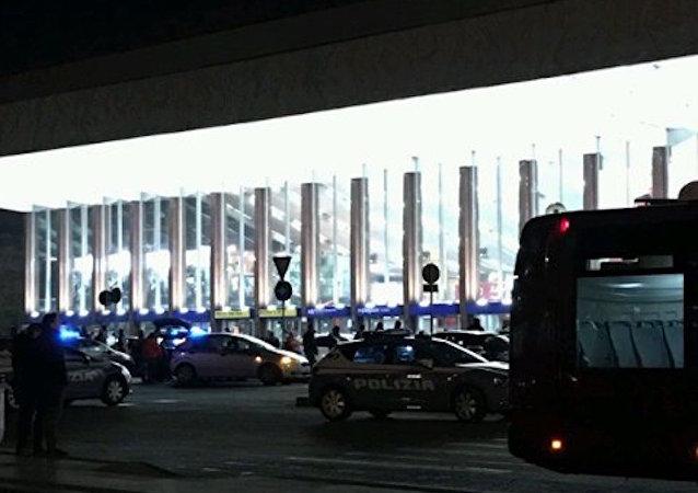Roma'daki Termini Tren İstasyonu 'terör' tehdidi nedeniyle boşaltıldı