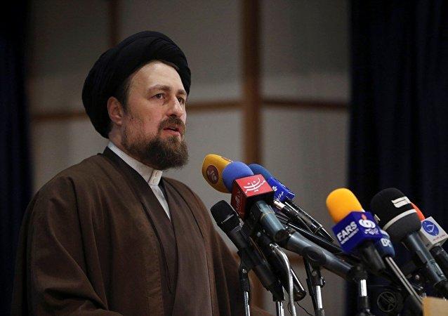 İran devrim lideri Ayetullah Humeyni'nin torunu Hasan Humeyni